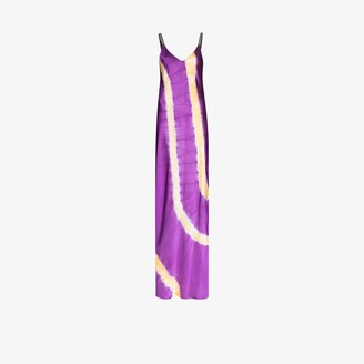 Palm Angels Tie-Dye Slip Dress