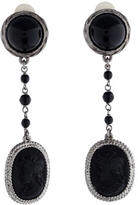 Andrew Gn Cameo Drop Earrings