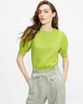 Thumbnail for your product : Ted Baker Puff Sleeve Knitted Top