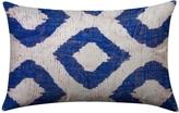 Found Object Diamond Lumbar Pillow