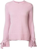 ADAM by Adam Lippes Tie Cuff Sweater