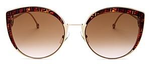 Le Specs Luxe Women's Nekton Round Sunglasses, 62mm