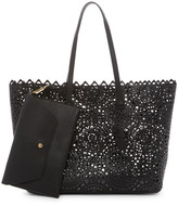 Shiraleah Helena Faux Leather Tote & Envelope Clutch