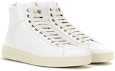 Tom Ford Leather High-top Sneakers