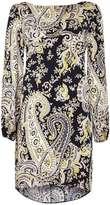 Paisley Woven Tunic Dress