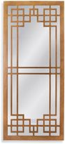 Bassett Mirror Company Thoroughly Modern 16-Inch x 36-Inch Gabriel Mirror in Gold Leaf