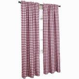 Asstd National Brand Buffalo Check Rod-Pocket Curtain Panel