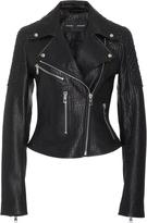 Proenza Schouler Textured-Leather Biker Jacket
