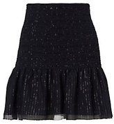 Derek Lam 10 Crosby Crinkled Hem Mini Skirt