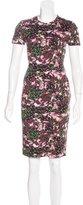 Givenchy Floral Print T-Shirt Dress