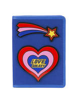 Yazbukey Love Galaxy Plexi Passport Holder - Blue