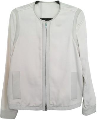 Nicole Farhi Beige Leather Jacket for Women