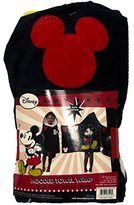 Disney Mickey Mouse Cotton Hooded Towel For Beach, Bath or Pool