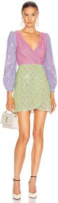 Olivia Rubin Meg Dress in Dash Print Mix | FWRD