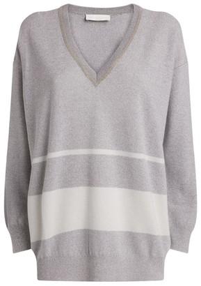 Fabiana Filippi Metallic Sweater