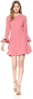 Jill Stuart Jill Women's Ruffle Hem Cocktail Dress
