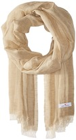 Love Quotes Linen Cotton Solid Scarves