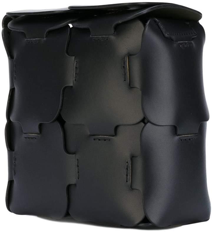 Paco Rabanne puzzle effect shoulder bag