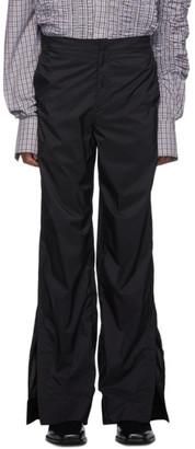 Bianca Saunders Black Deep Split Trousers