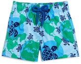 Vilebrequin Boys' Jim World Map Dots Swim Trunks - Sizes 2-20