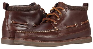 Sperry Gold Cup A/O Chukka Boots (Black) Men's Shoes