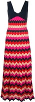 M Missoni knitted sleeveless dress
