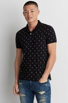 American Eagle Outfitters AE Print Jersey Polo Shirt