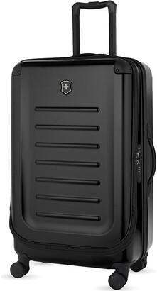 Victorinox Black Spectra 2.0 Expandable Four-Wheel Suitcase, Size: 78cm