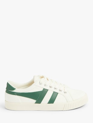 Gola Tennis Mark Cox Trainers, Off White/Dark Green