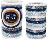 L. Erickson Grab & Go Pony Tube of 15 Ponytail Holders