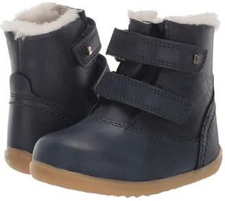 Bobux Step Up Aspen Winter Boot (Toddler) (Navy) Kid's Shoes