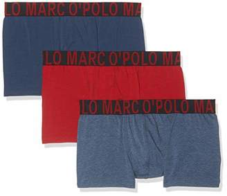 Marc O'Polo Body & Beach Men's Multipack M-Shorts 3-Pack Boxer Briefs,Large (Pack of 3)