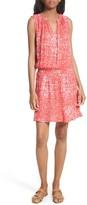 Soft Joie Women's Zealana Print Smocked Blouson Dress