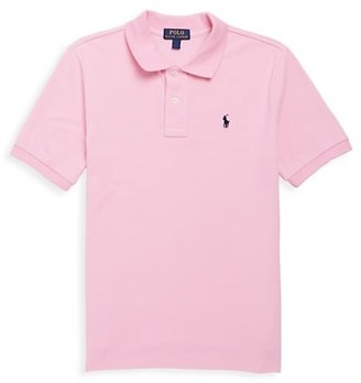 Ralph Lauren Little Boy's & Boy's Classic Mesh Knit Polo
