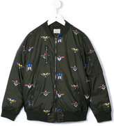 Armani Junior down bomber jacket