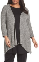 Eileen Fisher Plus Size Women's Angled Long Cardigan