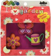 Jibbitz Orange & Pink Pretty Garden JibbitzTM Shoe Charm Set