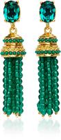 Oscar de la Renta Bejeweled Tassel C Earring