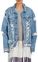 Public School Women's Gwenda Distressed Denim Jacket
