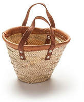 NEW Baby basket with leather trim Women's by 2 duck trading co
