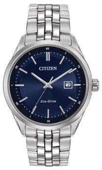 Citizen Mens Dress Eco-Drive Stainless Steel Bracelet Watch