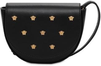 Versace Leather Bag W/ Decorative Medusa