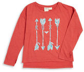 Roxy Girls 7-16 Arrow Graphic Tee