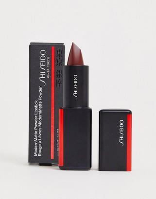 Shiseido ModernMatte Powder Lipstick Velvet Rope 522
