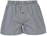 Hanro Fancy Boxer Shorts Black Check
