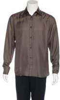 Gucci Printed Silk Shirt