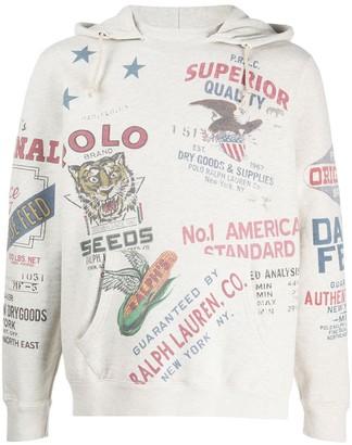 Polo Ralph Lauren American stamp hoodie
