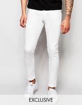 G Star G-Star BeRAW Jeans 3301-A Super Slim Fit Superstretch White
