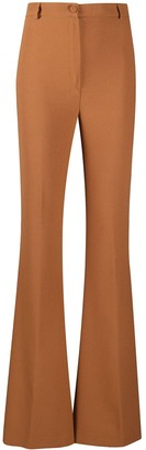 Hebe Studio Bianca Cady flared trousers
