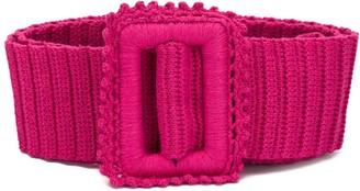 MSGM Crochet Knit Belt